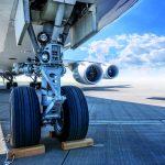 Fahrwerk eines Flugzeuges